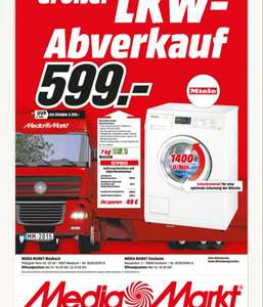 Miele WDA 110 WCS Waschmaschine MM Mosbach/Sinsheim