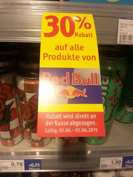 30 % Rabatt auf Redbull bei Rossmann