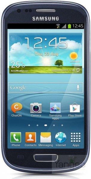 "Samsung Galaxy S3 mini I8190 AMOLED Display""Gebraucht""Sehr Gut"" pebble-blau eBay"