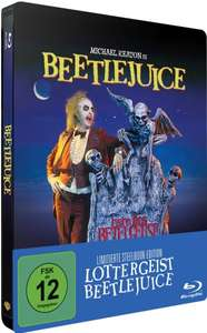 (amazon.de VORBESTELLER) Lottergeist Beetlejuice (Steelbook) (exklusiv bei Amazon.de) [Blu-ray] [Limited Edition] für 14,99€ + 3€ VSK