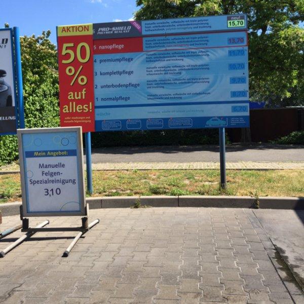 Auto waschen @ IMO 50% [Berlin- Buckower Chaussee]