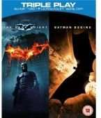 [wowhd.co.uk] [dt. Tonspur] Batman Begins & The Dark Knight - Triple Play (Bluray + DVD + Ultraviolet Copy) für 6,45€
