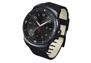 (AMAZON WHD) LG G Watch R Smartwatch - Schwarz