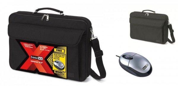 """[Dealclub] Dicota BaseXX Set.Notebook Tasche 39,11 bis 41,66cm (15,4-16.?4"""") + opt. USB Maus für 7,99€ Versandkostenfrei"""