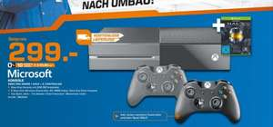 [Lokal Saturn Magdeburg, Offline] XBOX One 500GB + 2.Controller + Halo-The Master Chief Collection (DL Code) für 299,-€