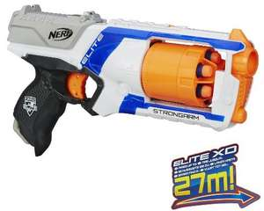 Nerf N-Strike Elite XD Strongarm (ohne PRIME zzgl. 3€)