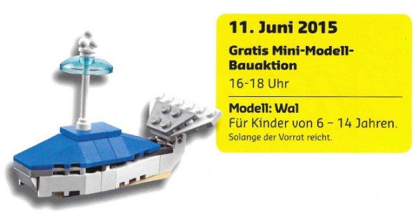 [Lokal] Kostenlose Mini-Modell-Bauaktion von LEGO im Juni erst am 11.06.2015