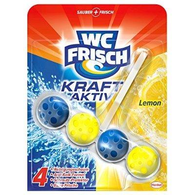 [Amazon Prime]WC Frisch Kraft-Aktiv Duftspüler Lemon, 5er Pack (5 x 1 Stück) für 6,95 bzw 6,60