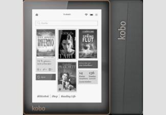 [@Saturn.de]: KOBO Aura N514 Ebook-Reader (schwarz, 15.2 cm (6 Zoll), 4 GB, 174 g)  inkl. Versand 84€