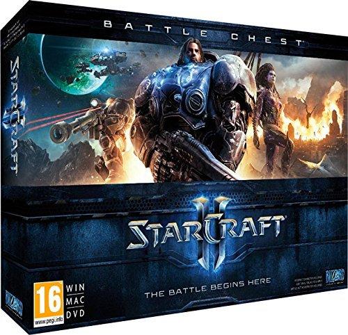 StarCraft II - Battle Chest (PC u. Mac) inkl. Vsk für 19,83 € > [amazon Spanien]
