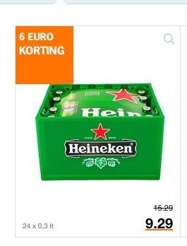 [Grenzgänger NL: Albert Heijn] 1 Kiste Heineken für 9,29 Euro zzgl. Pfand