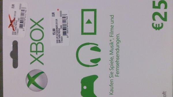 [Lokal MM Eschweiler] Xbox Live Guthaben 25€ für 15€ und 50€ für 30€