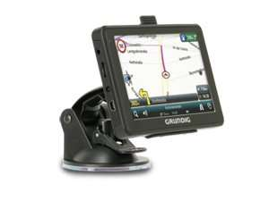 Grundig M5, Europa - Navigationssystem