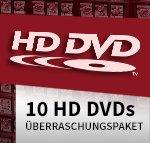 [Videobuster] HD DVD Abverkauf 10 Filme für 9,99€ + 3,50€ Versand