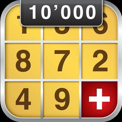 [Amazon/Android] Sudoku 10'000 Plus für 0,00 EUR statt 1,99 EUR!!