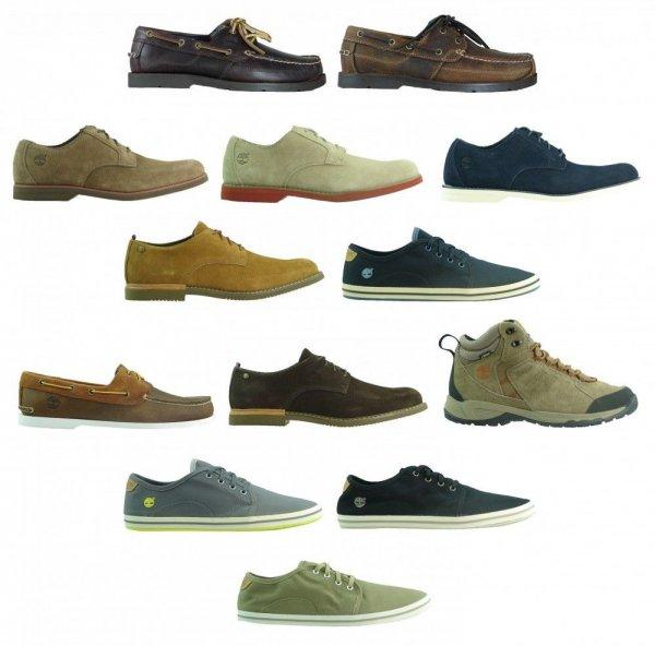 [eBay WOW] Verschiedene Timberland Herren Schuhe Lederschuhe, Segelschuhe, Schnürschuhe, und Halbschuhe