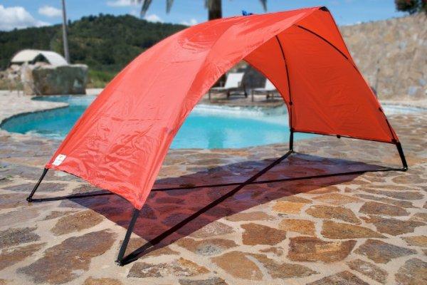 "Skincom Sonnenzelt Solartent ""Easy"" Rot für 11,99€ @ Getgoods"