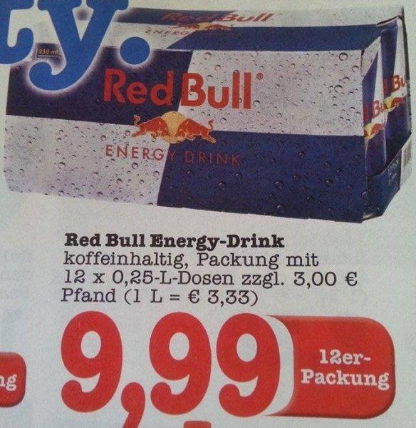 [EDEKA] Red Bull 12er für 9,99€ - Dose für 83 cent