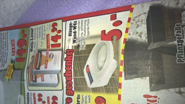 [Jawoll] Hänge Wand WC, Porzellan, über 80% unter Normalpreis