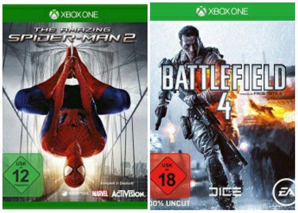 [Saturn.de] The Amazing Spiderman 2 / Battlefield 4 für Xbox One je 15€