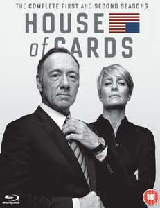 [Blu-ray] House of Cards Staffel 1 & 2 @ Amazon.co.uk