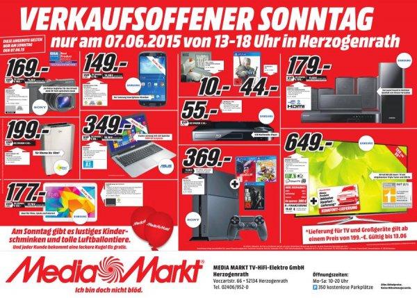 (Lokal Media Markt Herzogenrath) Samsung Galaxy SIII NEO 149€, Samsung Galaxy Tab 4 10.1 WiFi 177€, Sony PS4 + 3 Spiele 369€...