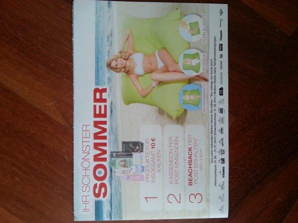 Neue Schwarzkopf & Henkel- Aktion *Produkte für 10€ kaufen und Schwimm/Sitzsack erhalten