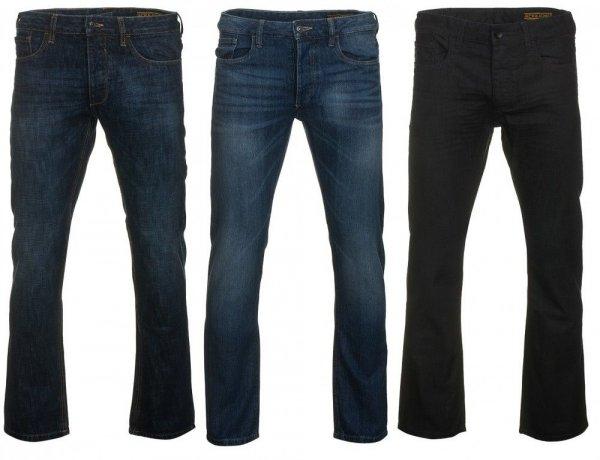 JACK & JONES Jeans Herren Clark Denim 3 Modelle Hose 100 % Baumwolle WOW