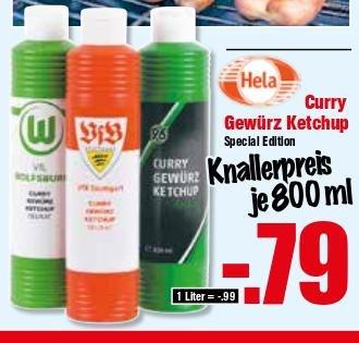 [Lokal@Krümet] Ab 10.Juni: Hela Ketchup: 0,79€!!! Sixer Bitburger 1,79€, Barilla Integrale 0,69€