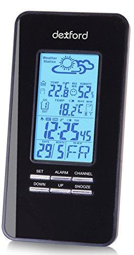 [3% Qipu] Dexford D-WS2200 Wetterstation mit Aussensensor und Wecker für 9,95€ frei Haus