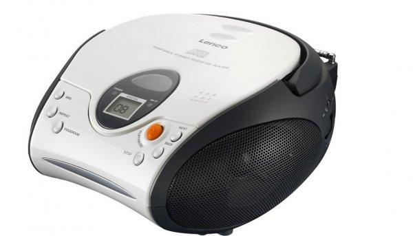 Amazon WHD (Prime): Lenco SCD-24 UKW-Radio mit CD-Player in verschiedenen Farben zwischen 15,90 - 20,48 €
