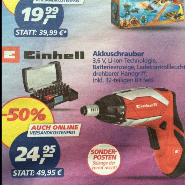 Einhell RT-SD Akkuschrauber Idealo: 31,88€