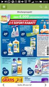 3€ Sofort Rabatt für Antikal,Swiffer,Febreeze, Mr.Propper bei Real ab 10€