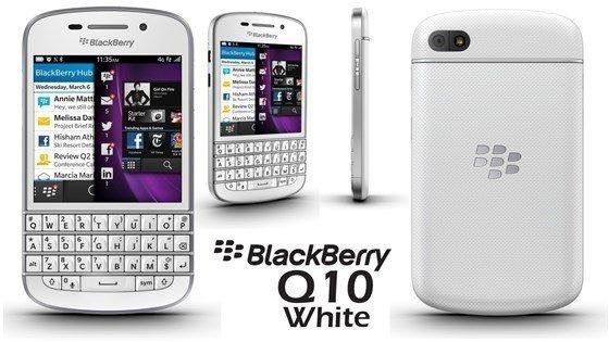 (Amazon WHD) Blackberry Q10 (7,9 cm (3,1 Zoll) AMOLED, Cortex-A9, Dual-Core, 1,5GHz, 2GB RAM, 16GB) weiß - 164,67 EUR (sehr gut) - (Idealo 215,00)