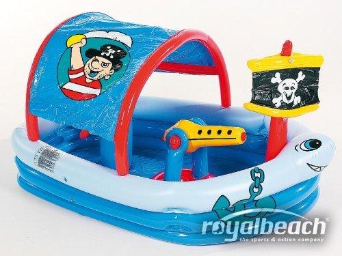 Royalbeach Piratenschiff Pool Planschbecken Splashfunktion Garten, 39,90 EUR @ amazon.