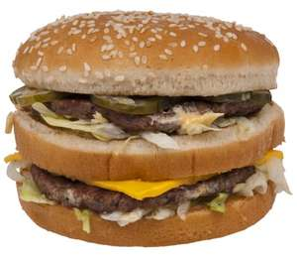 Endlich wieder zwei Big Mac zum Preis von einem. [McDonalds]