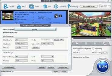 45€ WinX HD Video Converter Deluxe V5.6.0 für Windows PC (auch Win10)