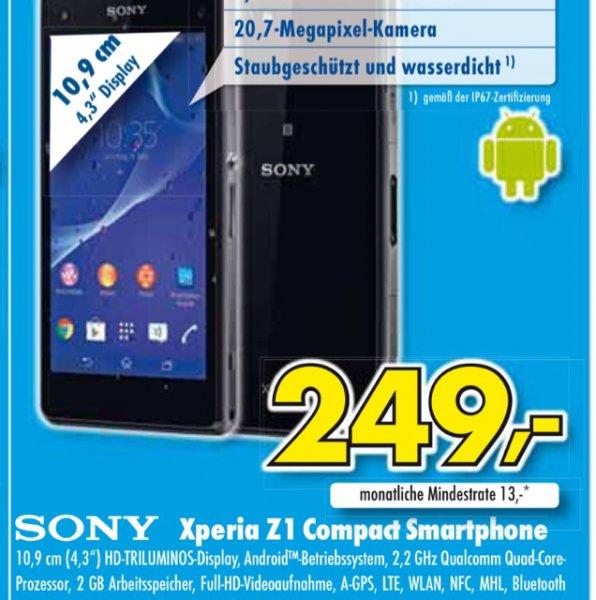 [Euronics lokal Mülheim-Kärlich] Sony Xperia z1 Compact
