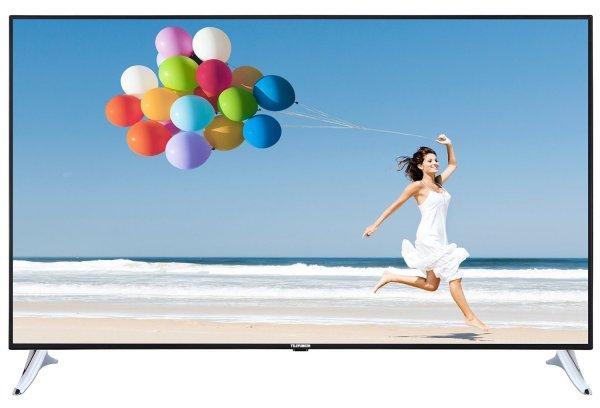 Blitzangebot: Telefunken L65F249I3C 165 cm (65 Zoll) LED-Backlight Fernseher, EEK A (Full-HD, 600Hz CMP, DVB-C/T/S2, Smart TV, WLAN, HbbTV, DLNA, CI+, 4x HDMI, 2x USB, Hotelmodus) schwarz @999,99 Euro inkl. Versand