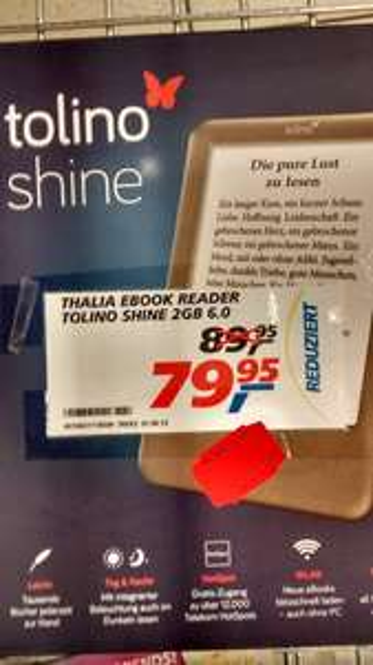 [Lokal] tolino shine im real Dreieich-Sprendlingen