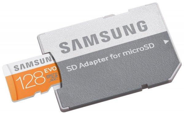 [Amazon] Samsung EVO MicroSDXC 128GB Class 10 UHS-I