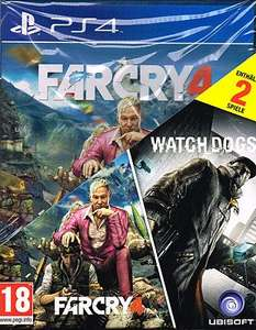 Far Cry 4 & Watch_Dogs (PS4/Xbox One) für 39,90€ @Gameware.at