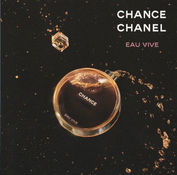 Chanel Chance Eau Vive 2ml gratis durch Douglas-Gutschein in der aktuellen Elle-Zeitschrift