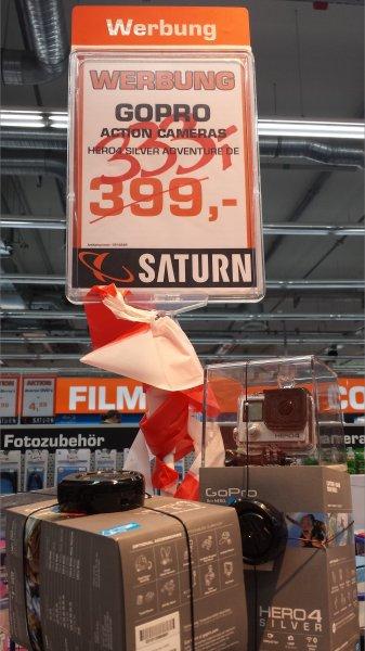 GoPro Hero 4 Silver Edition   SATURN BERLIN KÖPENICK 333€