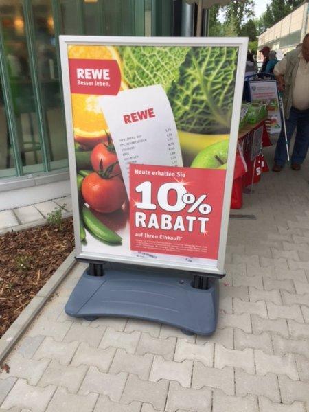 [Lokal Leipzig] 10 % Rabatt auf den gesamten Einkauf bei REWE Leipzig-Schönefeld (heute & morgen)