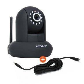 FOSCAM FI9831P, HD Überwachungskamera, schwarz, inkl. 3m Verlängerungskabel für 77€ inkl.VSK @notebooksbilliger.de