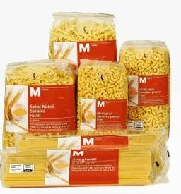 M-Classic 'Nudeln' - 3.5 kg für 6,99€ @Migros