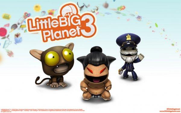 [PSN PS3/PS4] Little Big Planet 3 (LBP3) - neue Kostüm-Addons: Bahnhofsvorsteher, Sumoringer und Tarsier