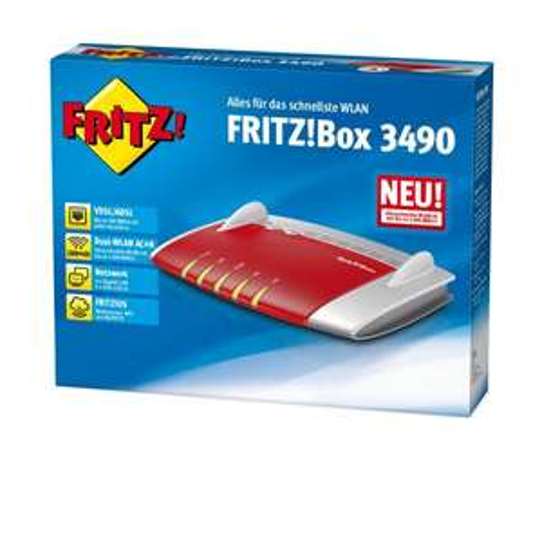 [Amazon WHD] AVM FritzBox 3490 für 91,68€ (Gebraucht-Sehr gut)