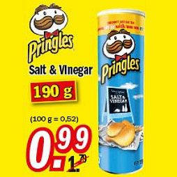 [ZIMMERMANN] KW25 Pringles Salt & Vinegar 190g nur 0,99€ (15.-20.06.2015)